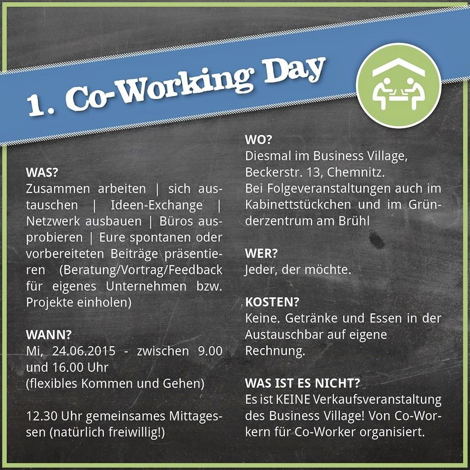 Co-Working-Day im Business Village