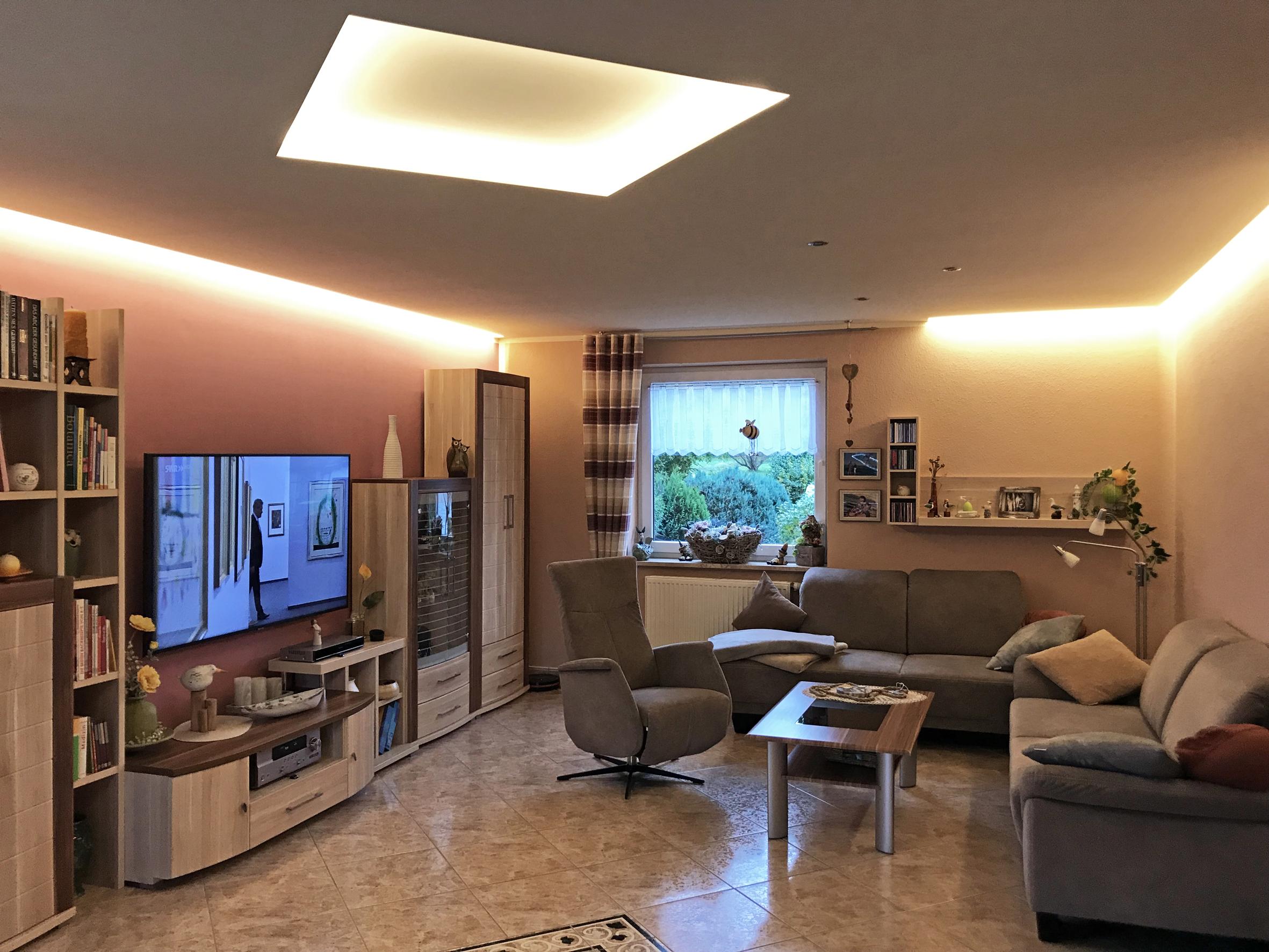 Wohnräume mit moderner Medientechnik